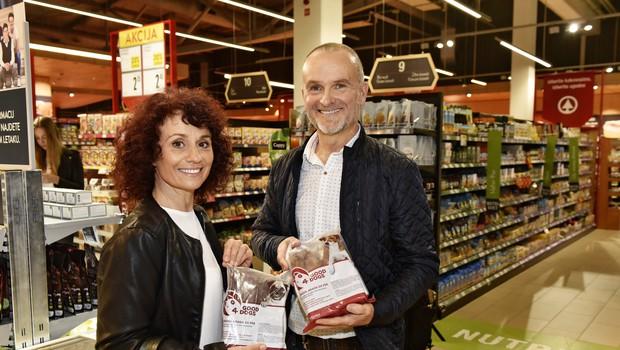 Branko in Radojka Merhar (Good4dogs) - vegana, ki sta šla med mesarje (foto: arhiv Štartaj Slovenija)