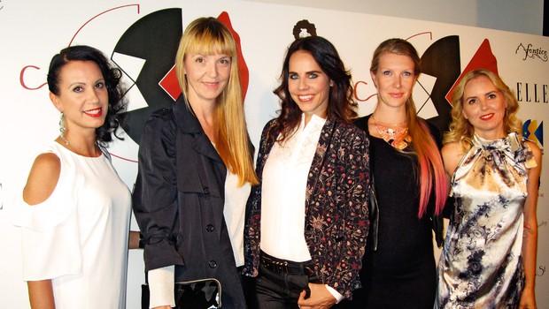Lorella Flego in Petra Windschnurer podpirata mlade oblikovalce (foto: Alpe)