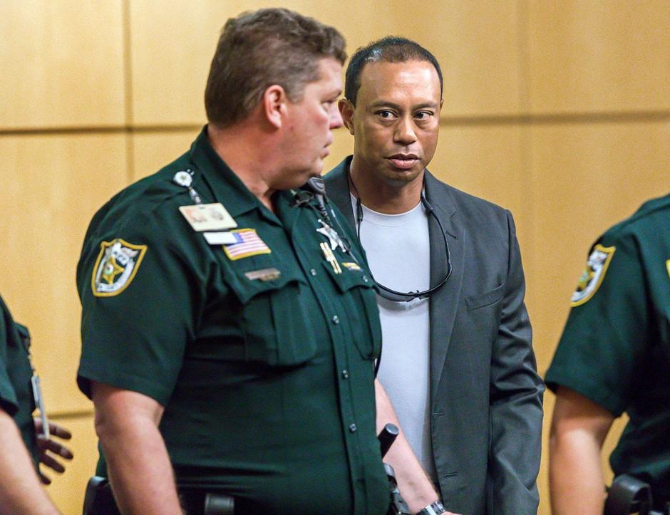 Tiger Woods se je izognil zaporni kazni zaradi malomarne vožnje! (foto: profimedia)