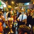 Emmanuela Macrona so v Francoski Gvajani pozdravili tudi z marihuano