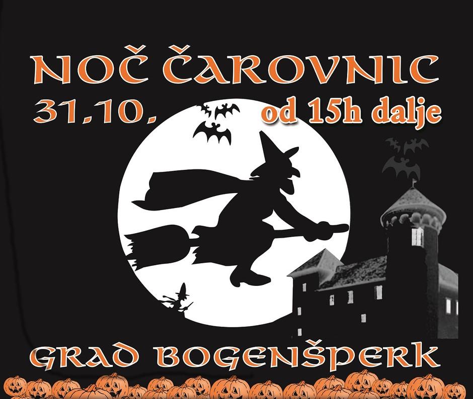 Noč čarovnic na gradu Bogenšperk (foto: promocija)