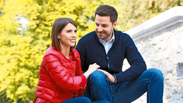 Novinarski par v veselem pričakovanju: Mirko Mayer in Kaja Flisar bosta zibala! (foto: Helena Kermelj)