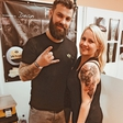 Jerica Zupan z novim tatujem