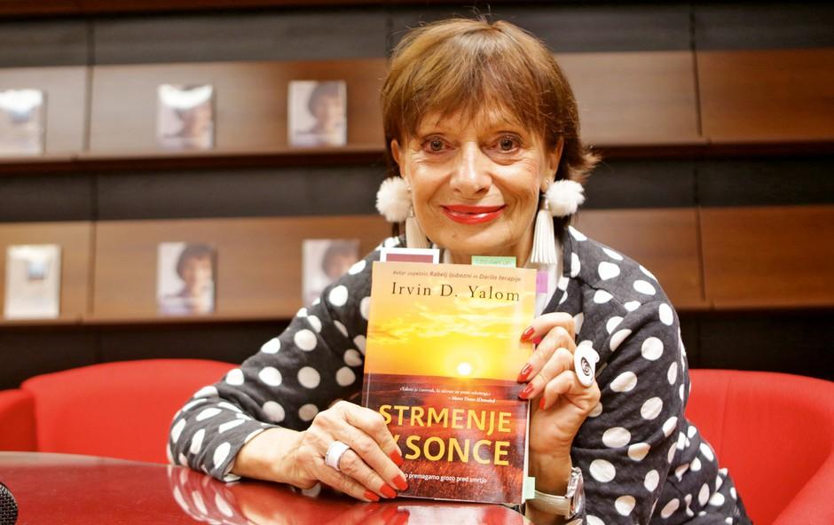 Manca Košir je pogumno spregovorila o svoji pretresljiviizkušnji z rakom in ganila do solz (foto: Primož Predalič)