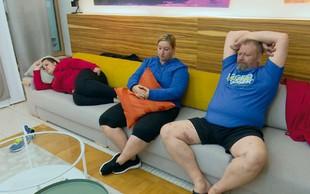 The Biggest Loser - tekmovalci pogrešajo posteljne radosti