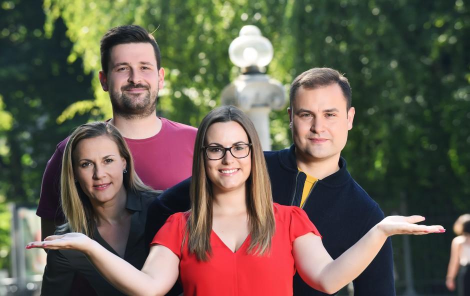 Podjetniški nasvet ekipe, ki je lansirala Pokice (Štartaj Slovenija) (foto: Štartaj Slovenija Press)