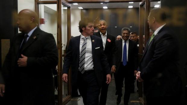Obama prišel na sodišče, a ni bil izbran za porotnika (foto: profimedia)