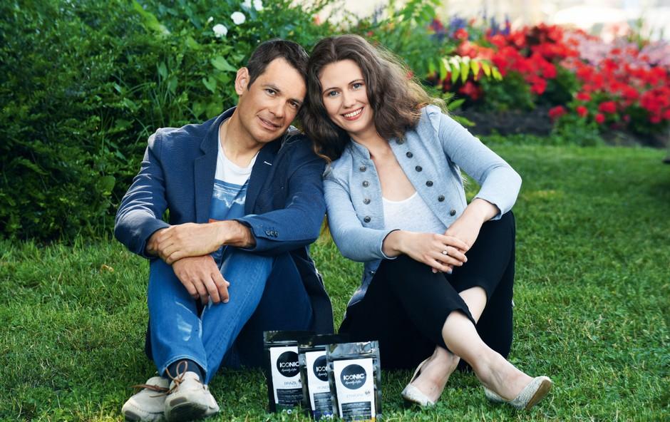 Valentina Radič in Gregor Gazvoda: Ob kavi so rešljive vse težave (foto: arhiv Štartaj Slovenija)