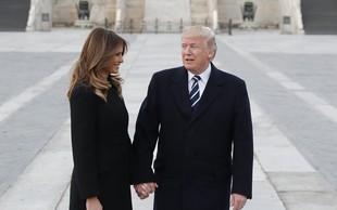 Trump poln hvale na račun kitajskega predsednika Xija, Melania pa je božala pande!