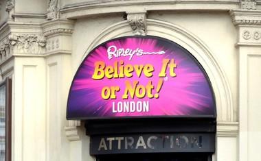 Ripleyjev slavni rek 'Saj ni res, pa je!' v stotinah neverjetnih zgodb iz celega sveta!