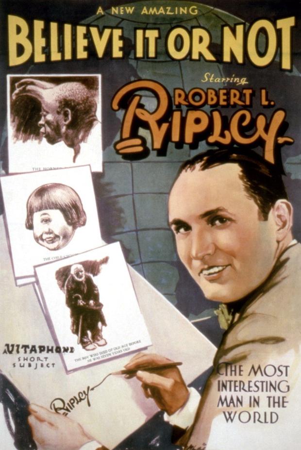 Ripleyjev slavni rek 'Saj ni res, pa je!' v stotinah neverjetnih zgodb iz celega sveta! (foto: profimedia)
