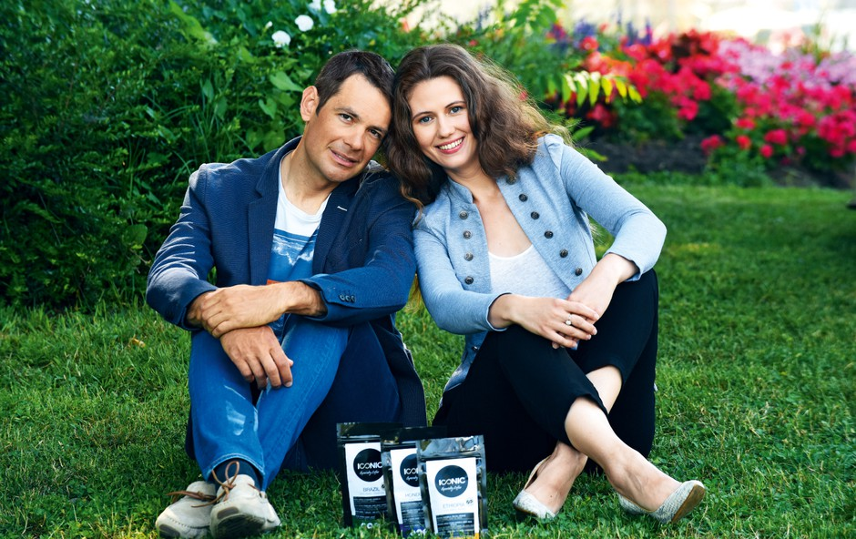 Gregor Gazvoda in Valentina Radič - njuna strast je kava! (foto: arhiv Štartaj Slovenija)