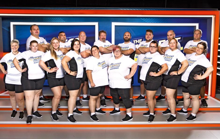 Preverite, kateri tekmovalci šova The Biggest Loser se v fitnesu potijo skupaj! (foto: Arhiv Planet tv)