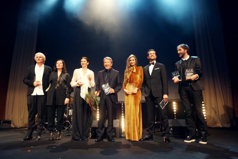 To so letošnji prejemniki nagrad Elle Style Awards 2017 (foto: Kaja Milanič)