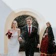 Jesenska poroka Ylenie Zobec na gradu Bogenšperk