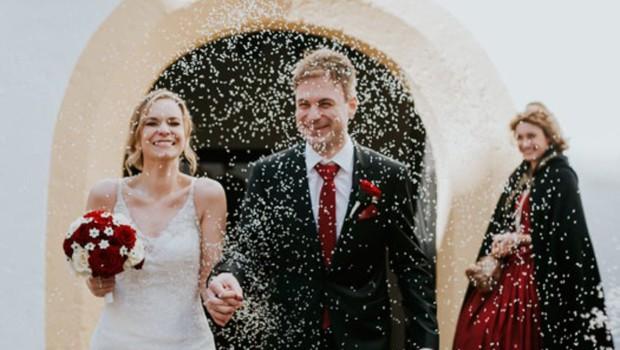 Jesenska poroka Ylenie Zobec na gradu Bogenšperk (foto: Travnik)