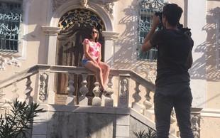 Anette z videospotom za singel 'Ljubim'
