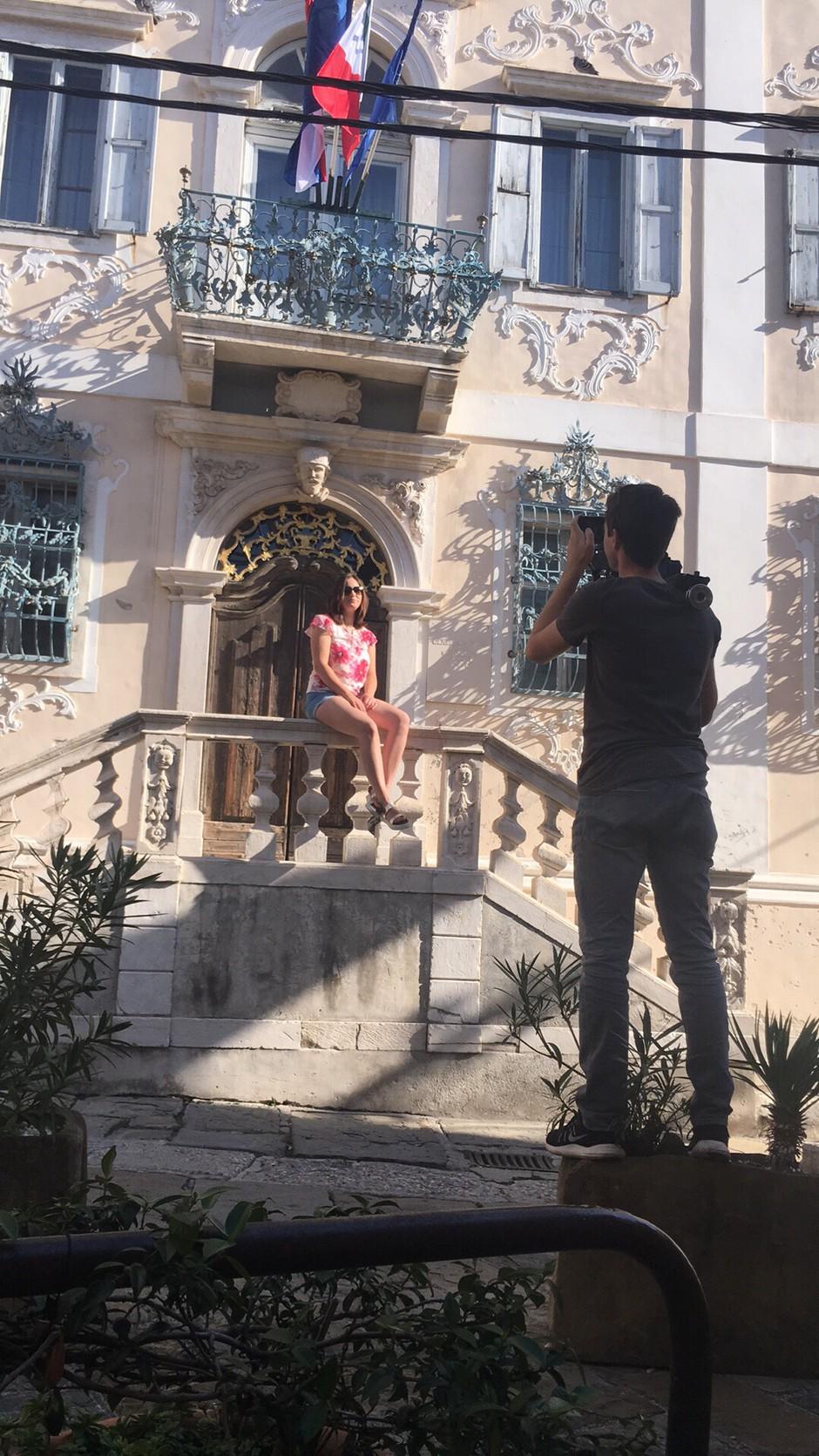 Anette z videospotom za singel 'Ljubim' (foto: Boštjan Tacol)