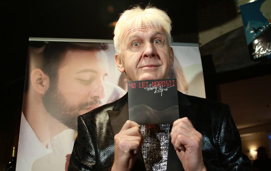 Andrej Šifrer predstavil svoj novi album 40. let norosti (foto: Goran Antley)
