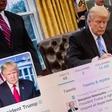 Pentagon objavil in hitro umaknil tvit s pozivom k odstopu Trumpa