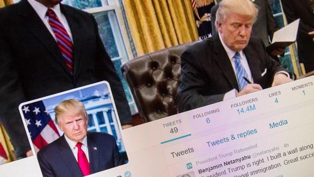 Pentagon objavil in hitro umaknil tvit s pozivom k odstopu Trumpa (foto: profimedia)