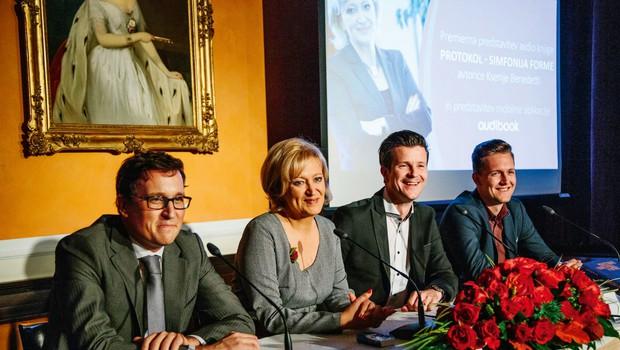 Ksenija Benedetti predstavila avdioknjigo Protokol (foto: Maja Marko)