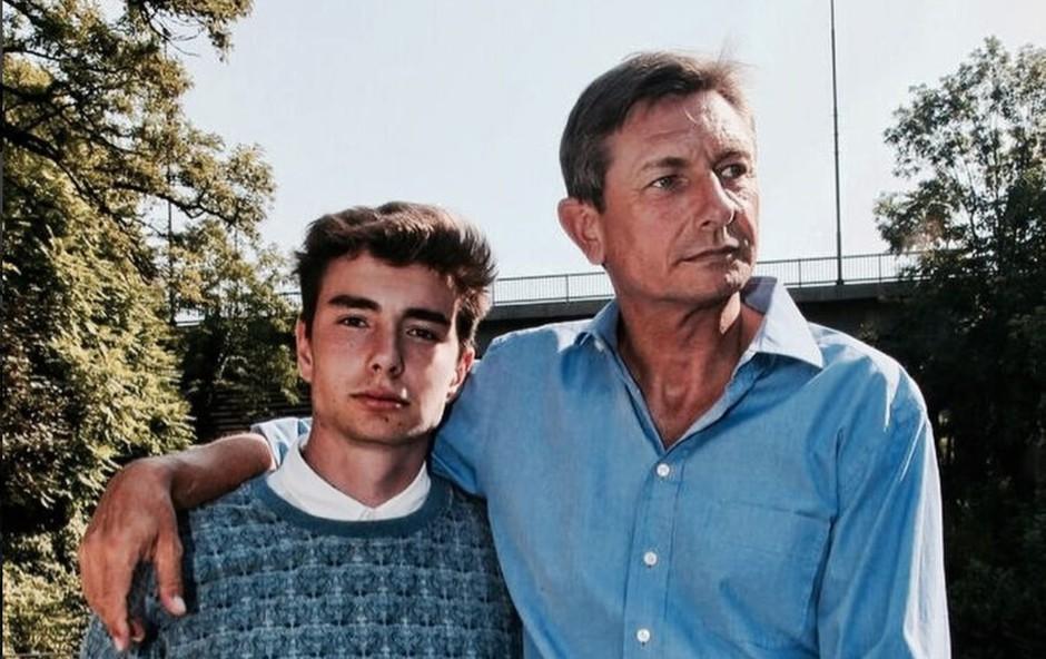 Sin predsednika Pahorja zapustil Slovenijo (foto: Instagram/Luka Pečar Pahor)
