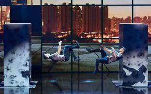 NORO! Slovenska akrobata sta v finalu hrvaškega Supertalenta!