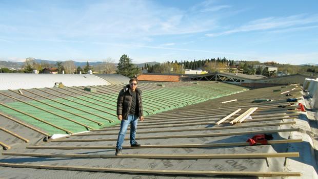 Rok Cvetkov ureja svoj filmski studio! (foto: Alpe)