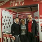 Lastnik Frizerskega studiaMH Marko Hriberšek, direktorica Varis Lendava Sabina Sobočan in Gorazd Rogelj iz Picto.design. (foto: Tina Ramujkić)