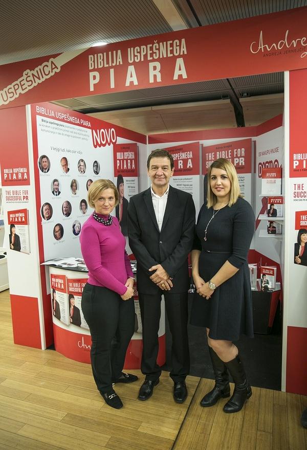 Romana Piskar iz družbe Piskar, dir. Barsosa Simon Vrhunec in dir. Detektivsko-varnostne agencije Bernarda Škrabar.