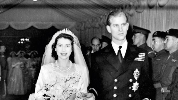 Kraljica Elizabeta in princ Filip sta poročena že 70 let (foto: Profimedia)