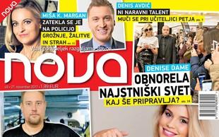 Anamaria Goltes: Razgalila se je! Več v novi Novi!