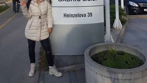 Lepotna vlogerka Lea Filipovič je bila nad posegom na Kliniki Svjetlost navdušena.  (foto: osebni arhiv)