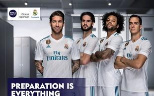 Skupna globalna akcija znamke NIVEA MEN in kluba Real Madrid