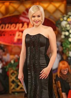 Darja Gajšek je bila čudovita nevesta, njena poročna obleka je bila pravo razkošje