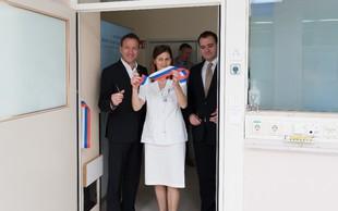 Nova porodna soba za tvegane porode v porodnišnici Ljubljana