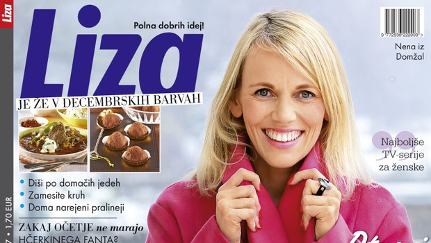 Nova Liza tokrat le na izbranih prodajnih mestih v kompletu s knjigo o Goranu Dragiću! (foto: Liza)