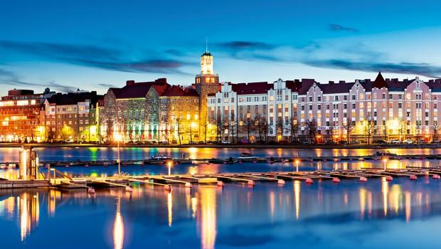 Helsinki - očarljivo obmorsko mesto (foto: Shutterstock)