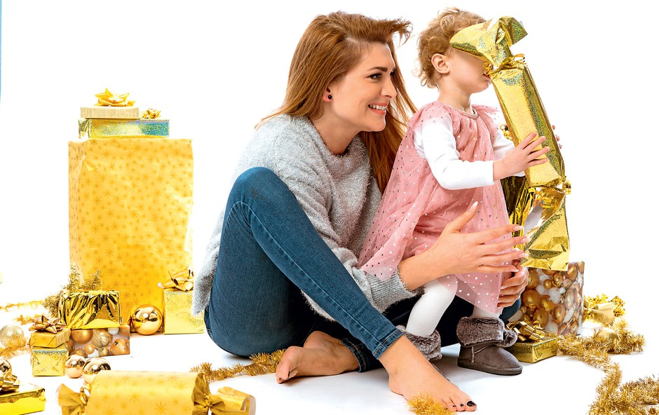 Manca Špik in njena Lana letos prvič pišeta Božičku (foto: Jaka Bizjak za Raay Music)