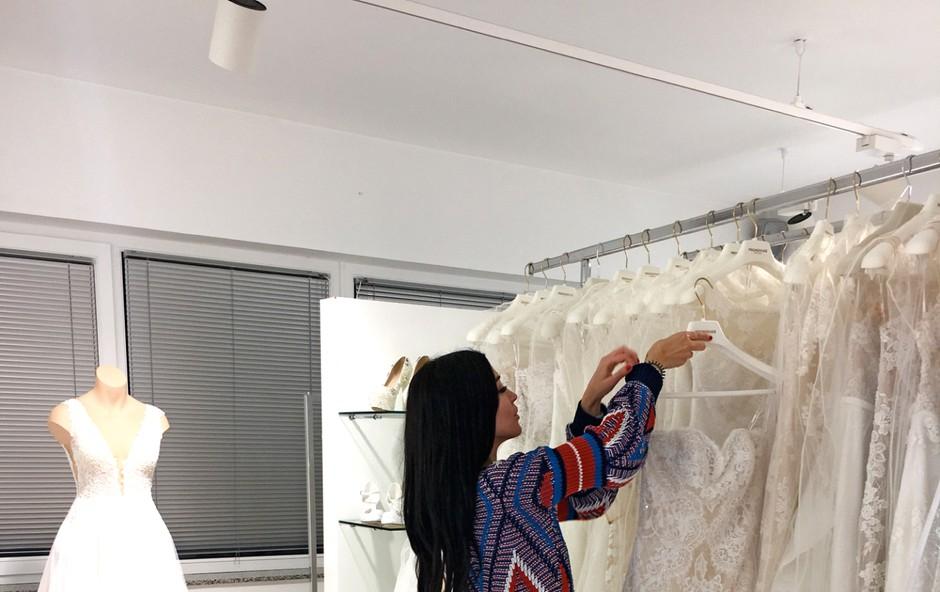 Sanja Grohar bo imela kar dve poročni obleki! (foto: Osebni arhiv)