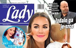 Rebeka Dremelj: Najraje sem mama! Več v novi Lady!