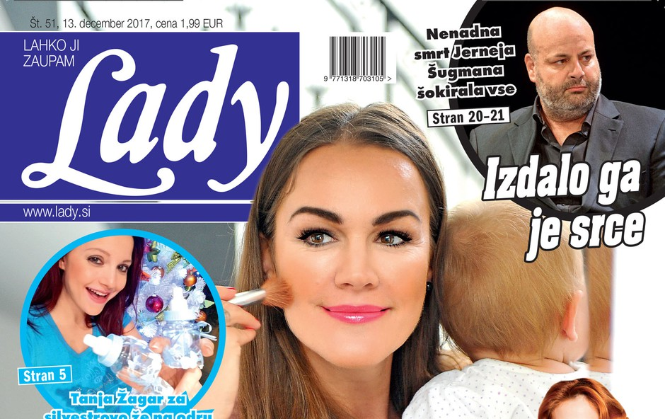 Rebeka Dremelj: Najraje sem mama! Več v novi Lady! (foto: Lady )