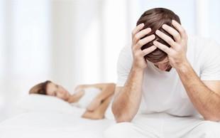 Erektilne motnje: Ko moškega  'boli glava'