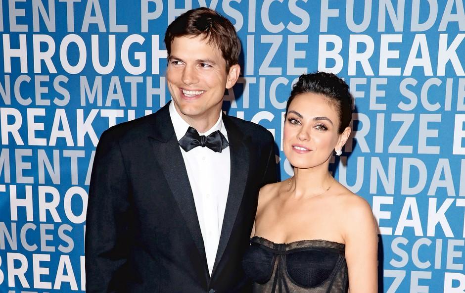 Aston Kutcher in Mila Kunis: Zaljubljena kot prvi dan (foto: Profimedia)