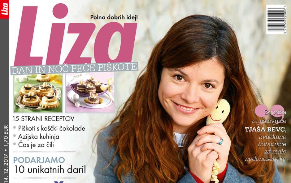 Nova Liza tudi tokrat le na izbranih prodajnih mestih v kompletu s knjigo o Goranu Dragiću! (foto: Liza)