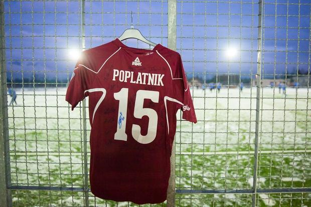 Dres Mateja Poplatnika (foto: Press)