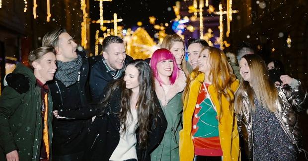 Tole je TOP čisto slovenska priredba skladbe White Christmas (foto: BQL Facebook)