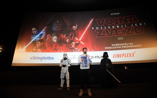 VIII. Epizoda Vojne zvezd: Poslednji jedi osvaja tudi Cineplexx kina po Sloveniji