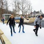 Ledena fantazija bo v parku Zvezda združila svet (foto: Matej Pušnik)